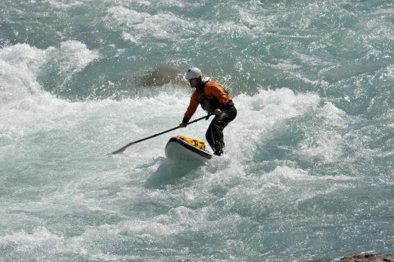 airboard sup board wildwasser mietsup