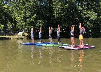 JGA mit Yoga